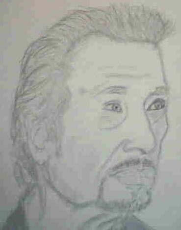 Casimir-Portrait celebrité Johnny10