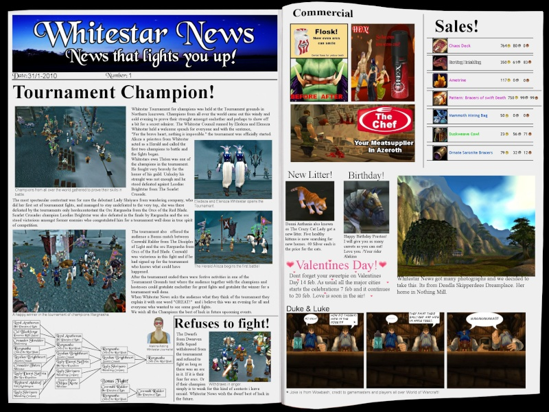 [WOW] Whitestar News - Whitestar Magasine Wnews11