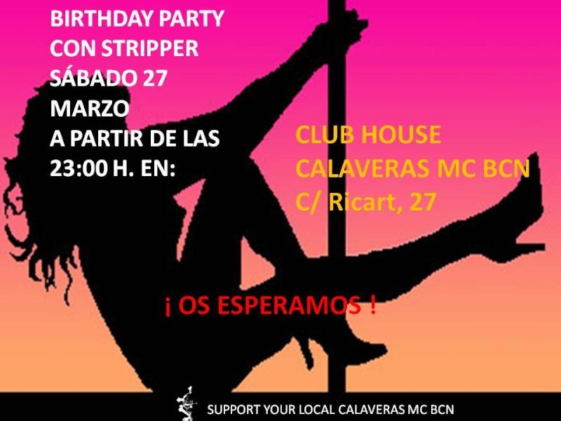 FIESTA CUMPLEAÑOS EN CLUB HOUSE (27 Marzo) Fiesta10