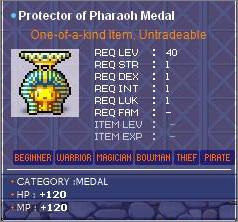 Maple All Medal Guide Pharao10