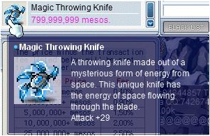 Magic Throwing Knife in MapleSEA Pictur21