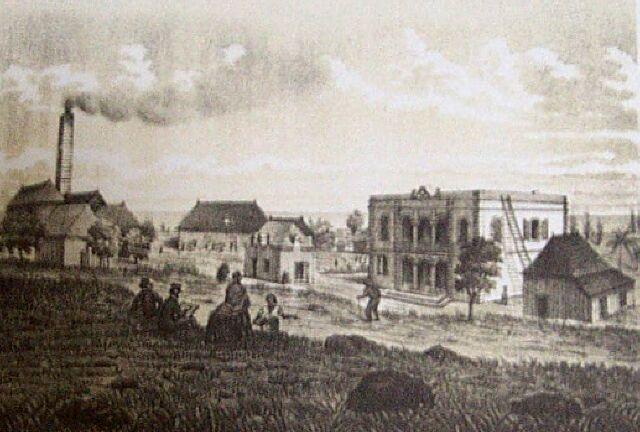 Ancienne demeure des familles Desbassayns et Villèle Habita10