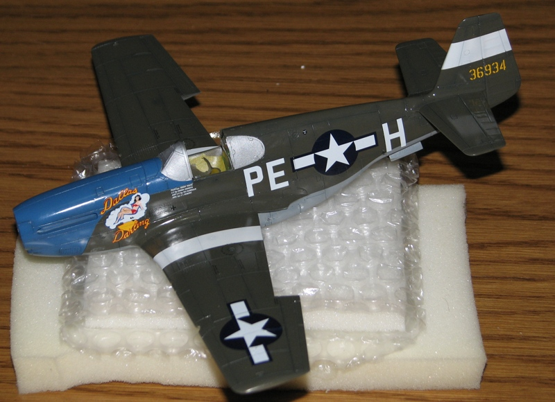 P-51B update - decals applied Img_3550