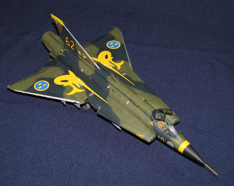 Saab J-35J Draken Img_4611