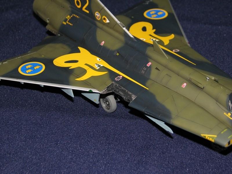 Saab J-35J Draken Img_4612