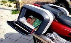 Bagasi motor untuk menyimpan bayi Bagasi10