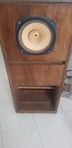 Fostex 206 with 22mm cabinet 20190511