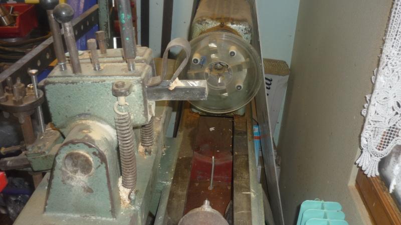 Fabrication d'un tour à bois P1140010