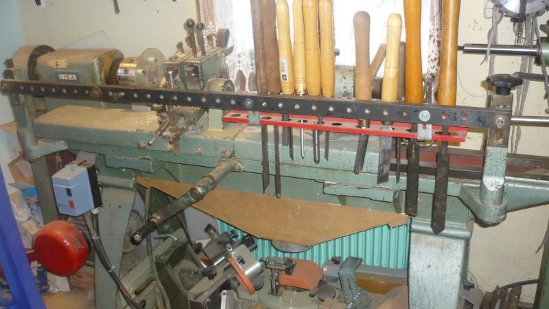 Fabrication d'un tour à bois P1140110