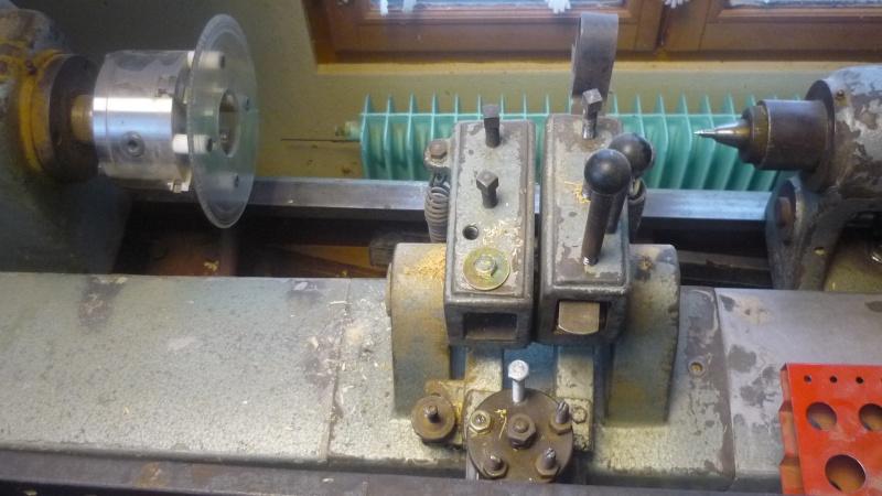 Fabrication d'un tour à bois P1140113