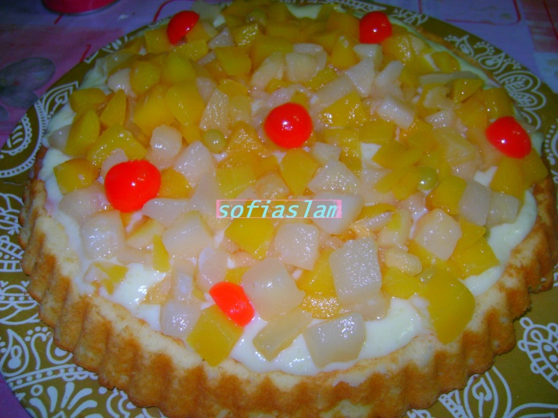tarte au fruits parfumee au citron Lebonc20