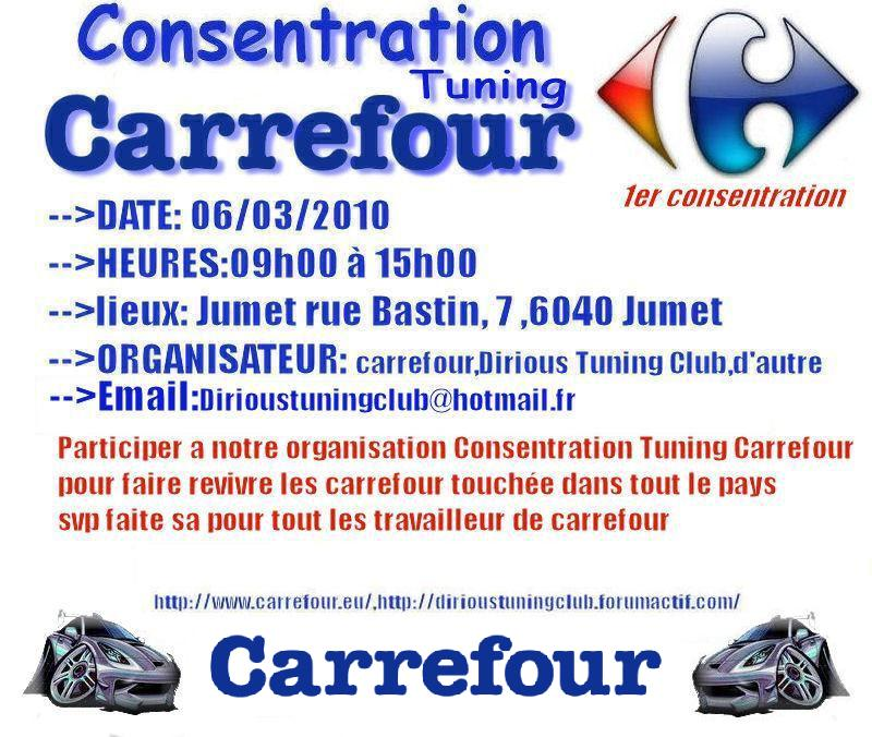 consentration tuning carrefour in belgieum Carref10