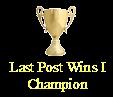 Last post wins - part II Last_p10