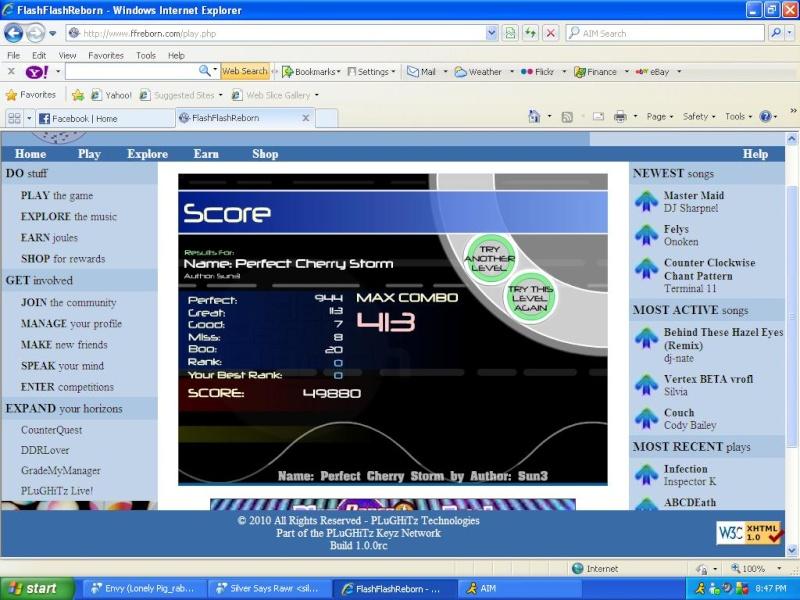 FFReborn Scores Thread! Pcs10