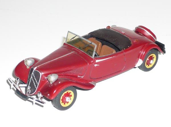 La 15/6 cabriolet 1939 en miniature 15-19310