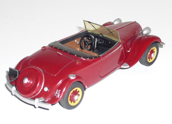 La 15/6 cabriolet 1939 en miniature 15-19311