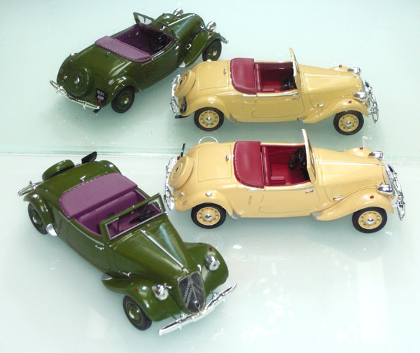 La 15/6 cabriolet 1939 en miniature Norev_15