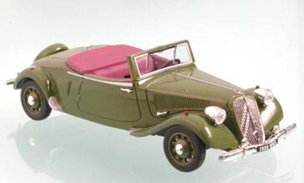La 15/6 cabriolet 1939 en miniature Norev_16
