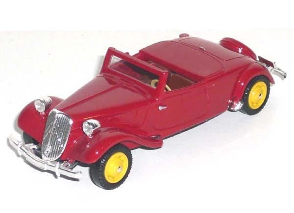 La 15/6 cabriolet 1939 en miniature V_100112