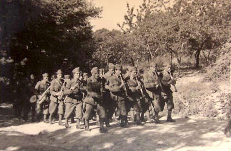 90e reggimento di fanteria  div cosséria verso mentone Banda_10