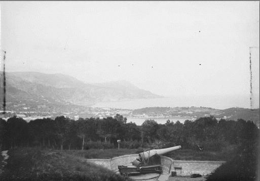 fortification au bord de la mer Batter10