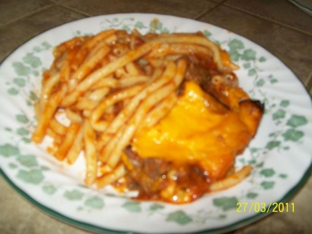 Macaroni long au ketchup T412