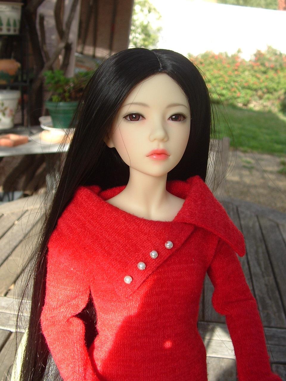Je vous présente Mitsuko, ma belle Asa - première robe p 2 - autre tenue p 3 Dscf0437