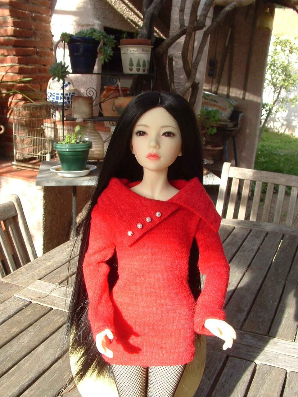 Je vous présente Mitsuko, ma belle Asa - première robe p 2 - autre tenue p 3 Dscf0438