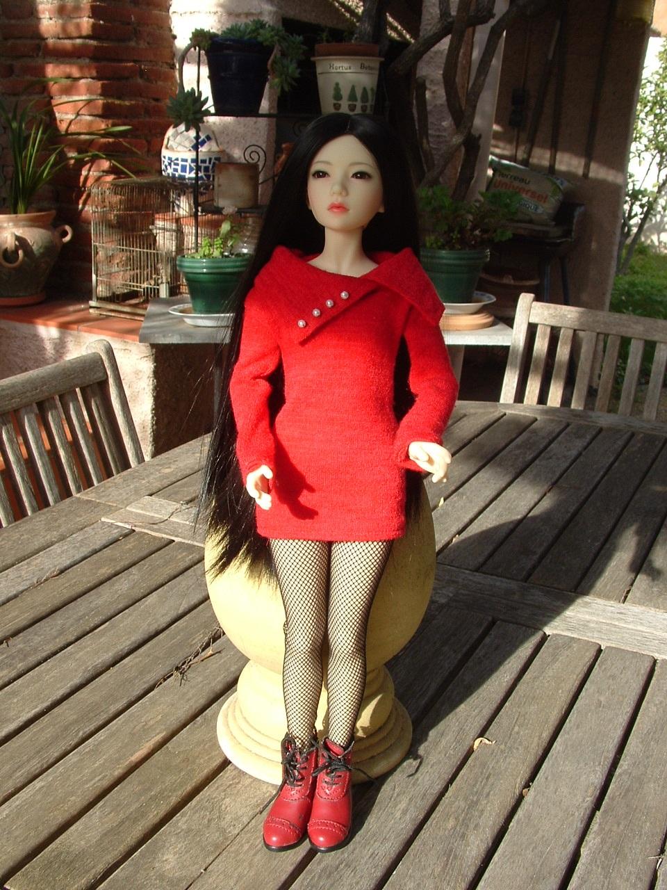 Je vous présente Mitsuko, ma belle Asa - première robe p 2 - autre tenue p 3 Dscf0439