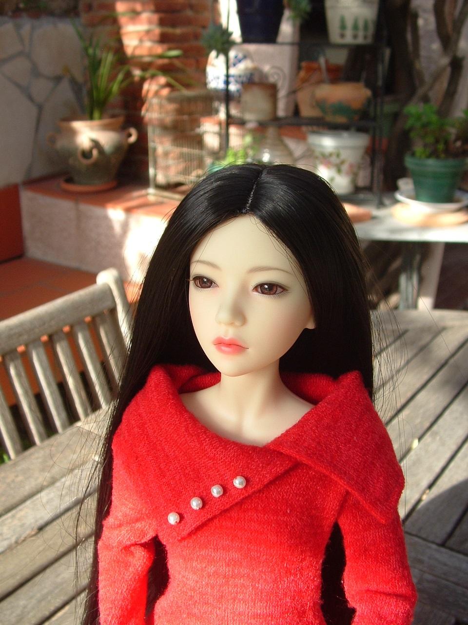 Je vous présente Mitsuko, ma belle Asa - première robe p 2 - autre tenue p 3 Dscf0440