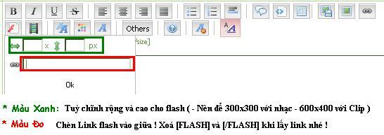 Hướng dẫn post hình / nhạc / flash / clip 110