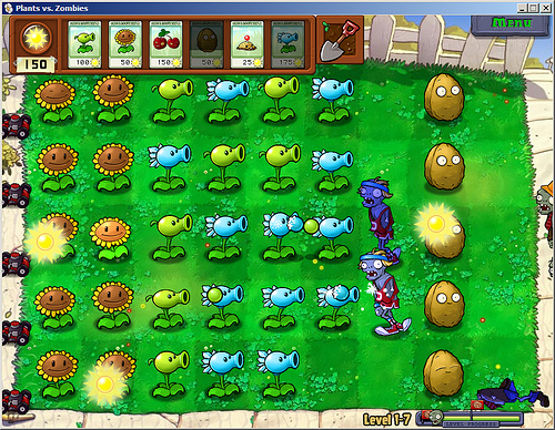plantes vs zombies اللعبه الشيقه جدا  for pc 38888710