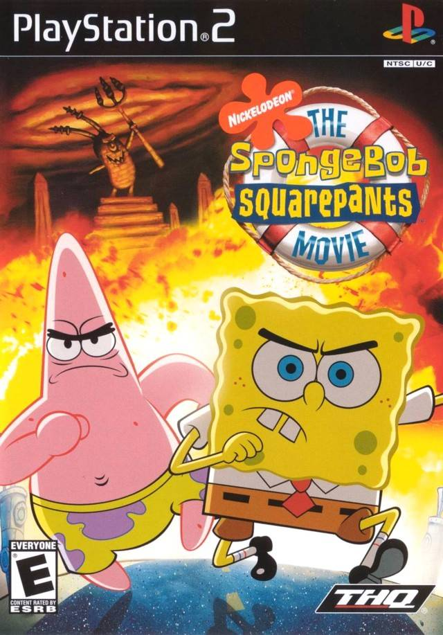 spongebob squarepants the movie تحميل لعبة for ps2 (play staition 2) 92019610