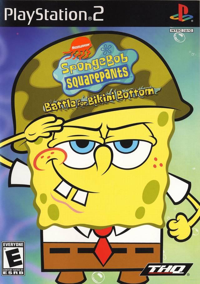 SpongeBob Battle for Bikini Bottom تحميل لعبة for ps2 (play staition 2) Box_sb10