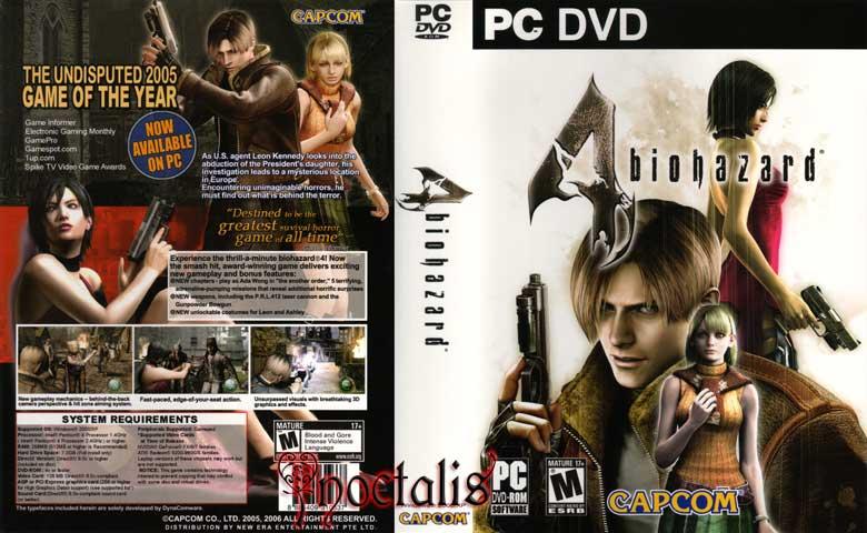 resident evil 4 cd dvd for pc G_re4_14