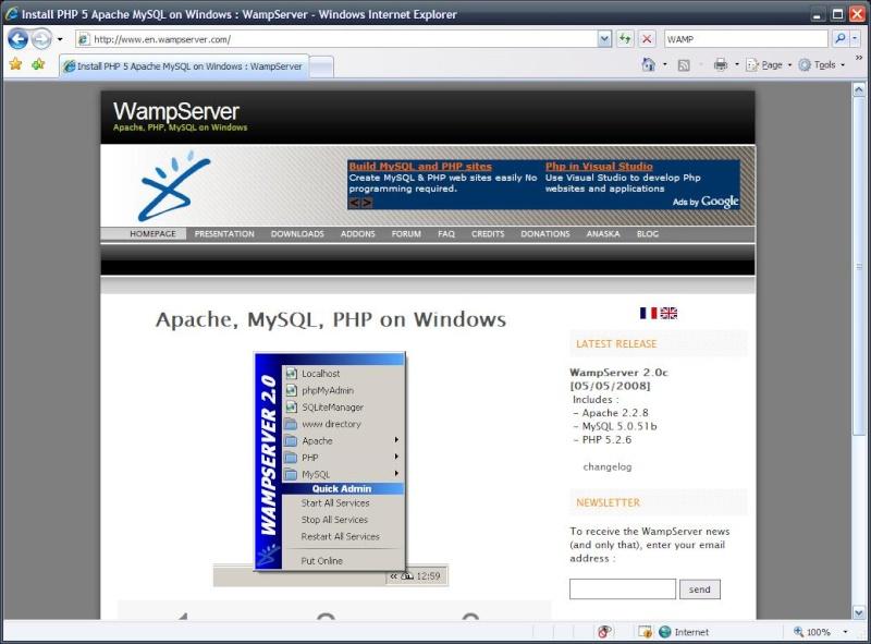 Servidor web Wamp_s10