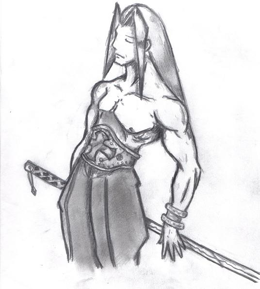May as well contribute: Old pencil I did years ago 00819810