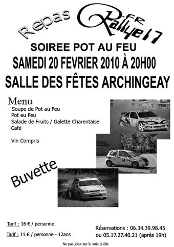Repas Rallye17 - Samedi 20 Février 2010 Affich10