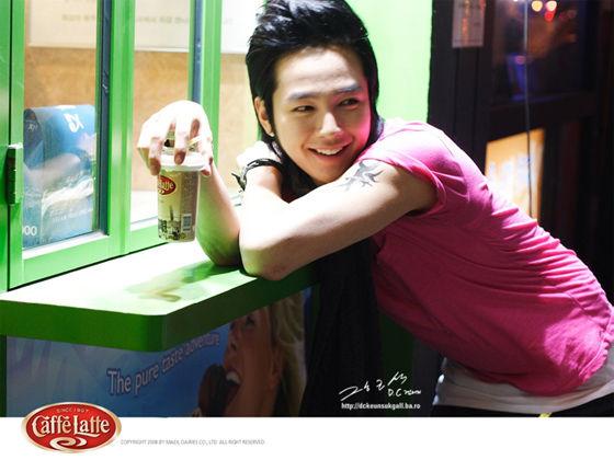 Cute Jang Geun SuK in Coffee CM 2aa13c10