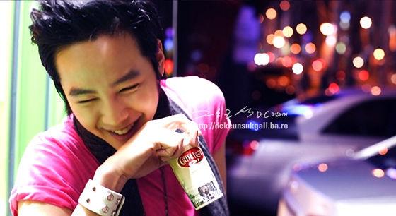 Cute Jang Geun SuK in Coffee CM 6de6e110