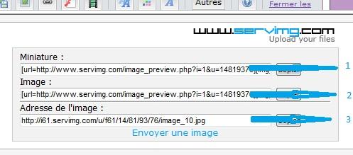Insérer une image dans une réponse avec Servimg 3_lign10