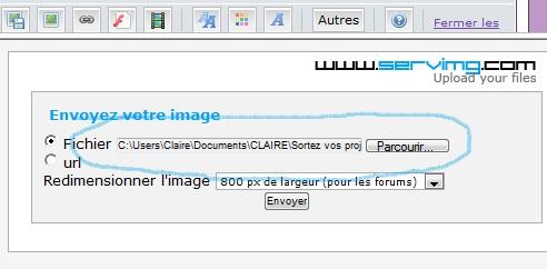 Insérer une image dans une réponse avec Servimg Image_12