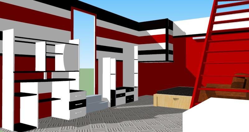 demande de conseil pour décorer une chambre rouge et noire a - Page 3 Ch_ado13