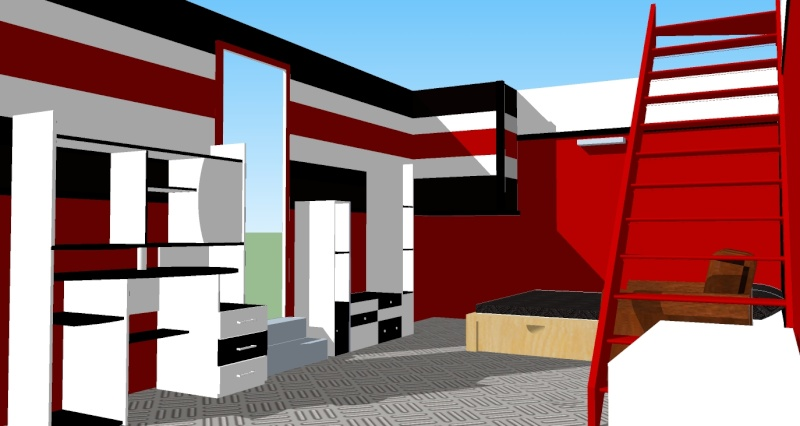 demande de conseil pour décorer une chambre rouge et noire a - Page 3 Ch_ado14
