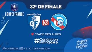 32es de finale de la CDF Grenoble- Strasbourg Gf38rc10