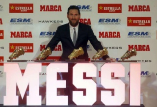 Le Soulier d'Or Messi-10