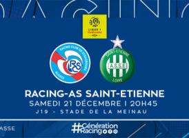 19ème journée: Strasbourg - Saint-Etienne saison 2019/2020 Progra27