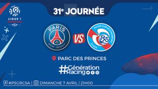 31ème journée : PSG - Strasbourg  Psgrcs11