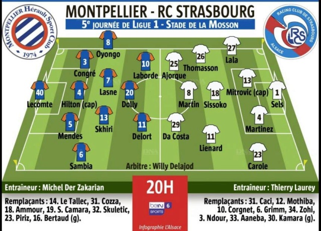 5ème journée: Montpellier-Strasbourg   Title-13