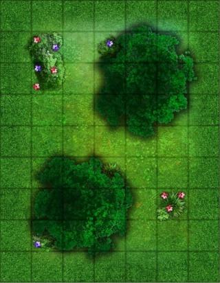 Battlemap - Essais et WIP Bosque10